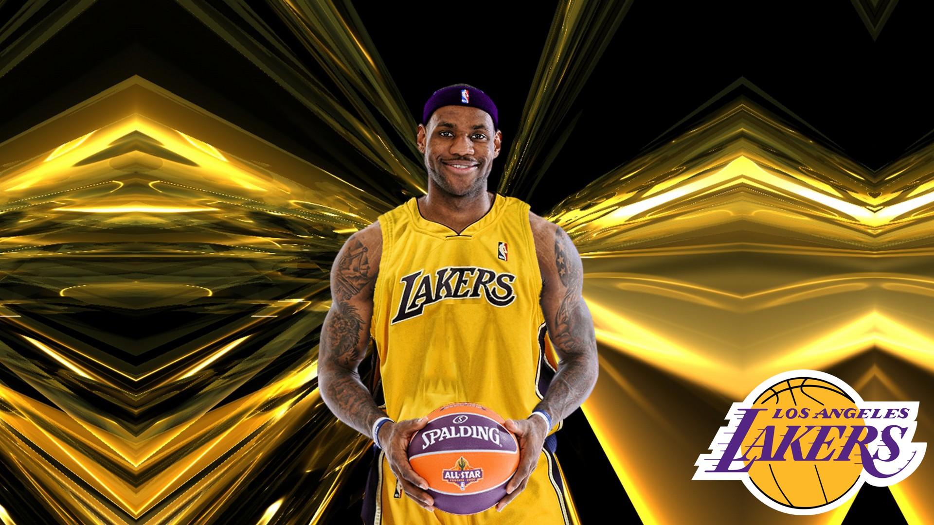 Wallpapers HD LeBron James LA Lakers 2020 Basketball Wallpaper 1920x1080