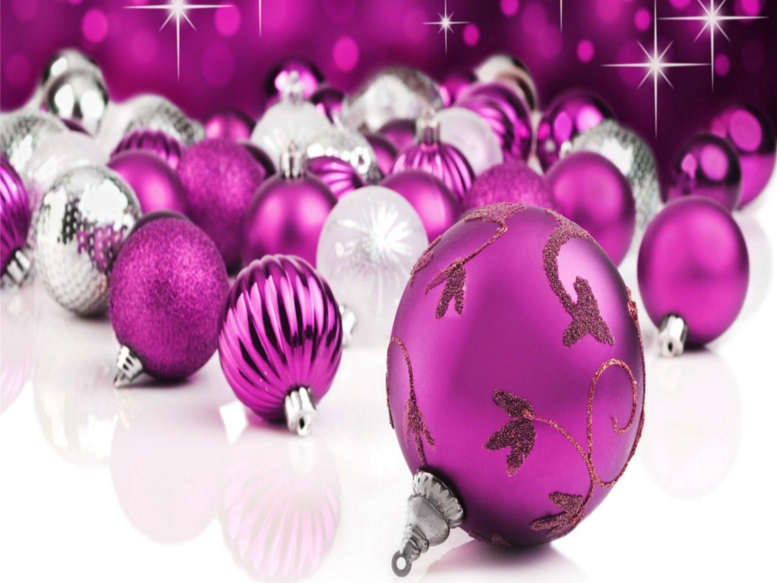 Pink Christmas Background Wallpapers9 1600x1200