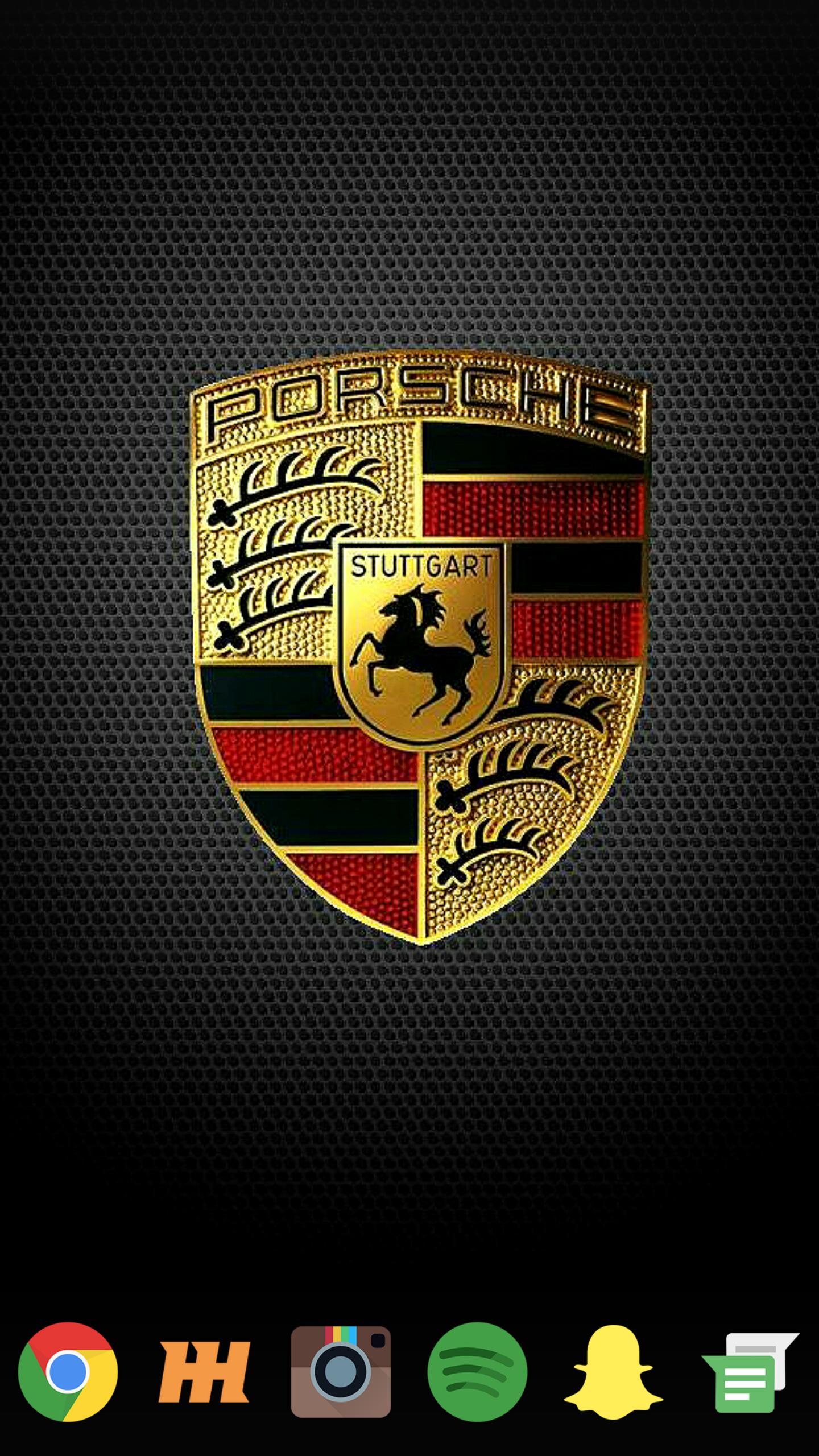 Sweet Porsche logo wallpaper 1440x2560