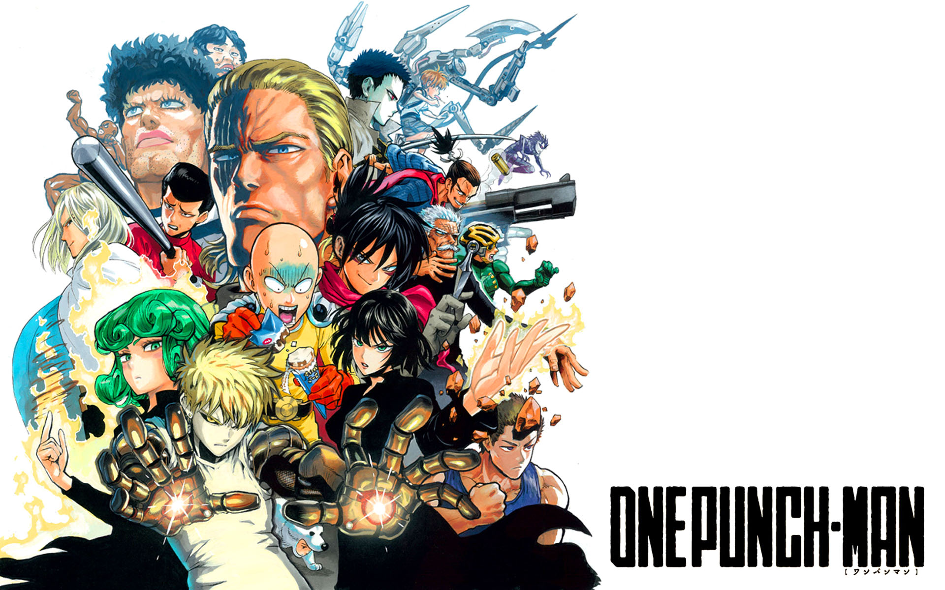 Image Result For Download Wallpaper Anime One Punch Man Hd