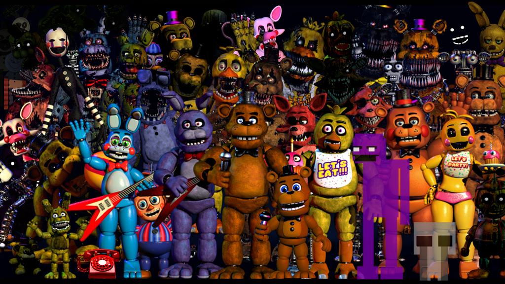[98+] Five Nights At Freddy's Wallpapers on WallpaperSafari