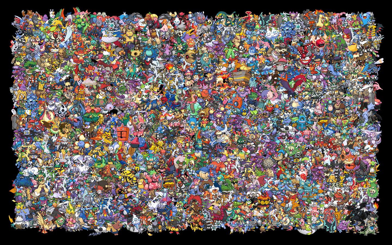All Pokemon Wallpaper 1440x900