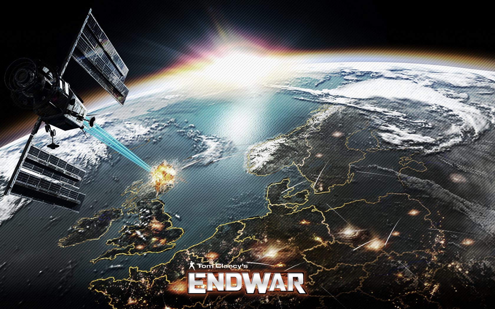 Tom Clancys EndWar 2008 promotional art   MobyGames 1680x1050