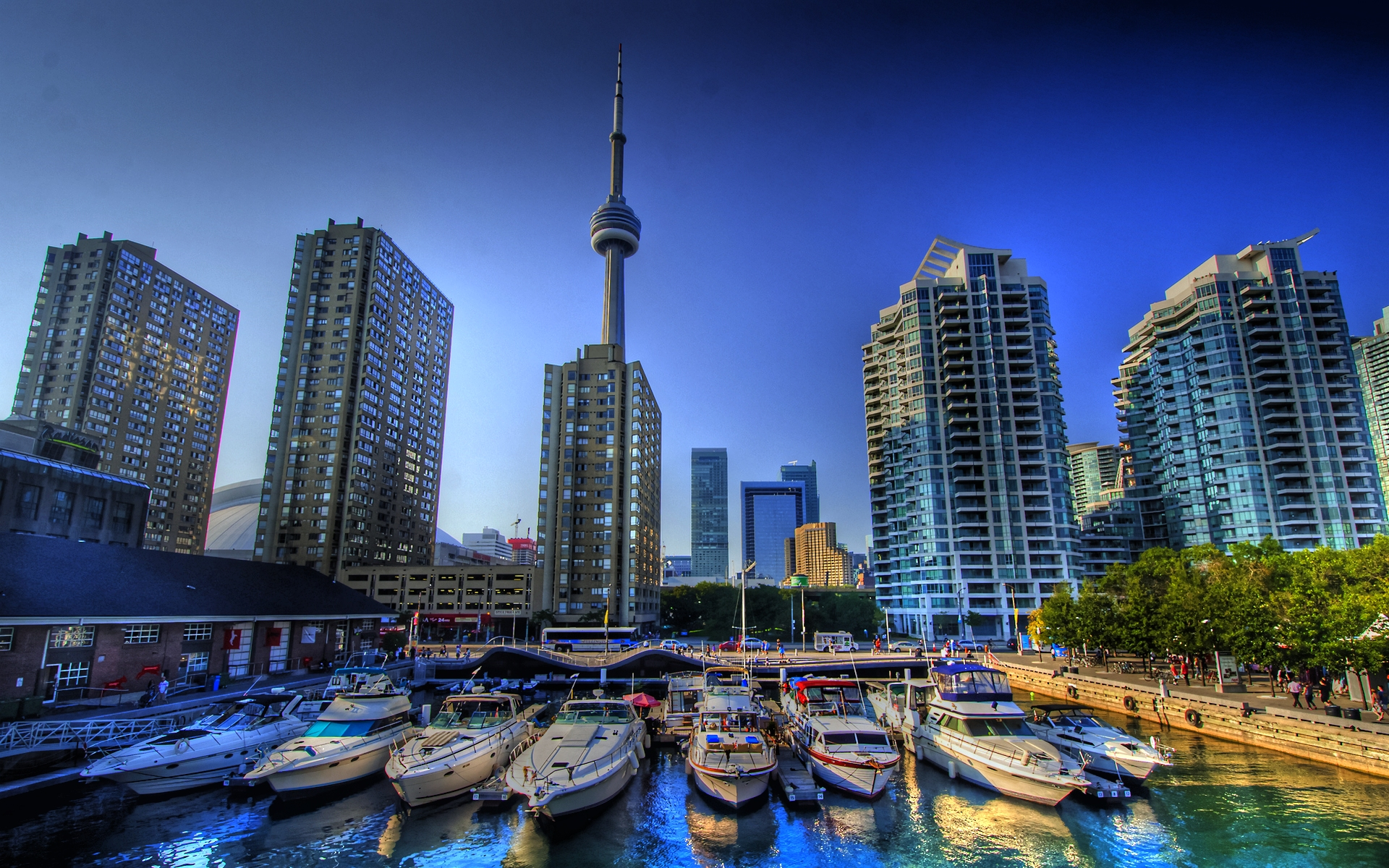 Toronto Canada Harbor Front HD Wallpapers 1920x1200