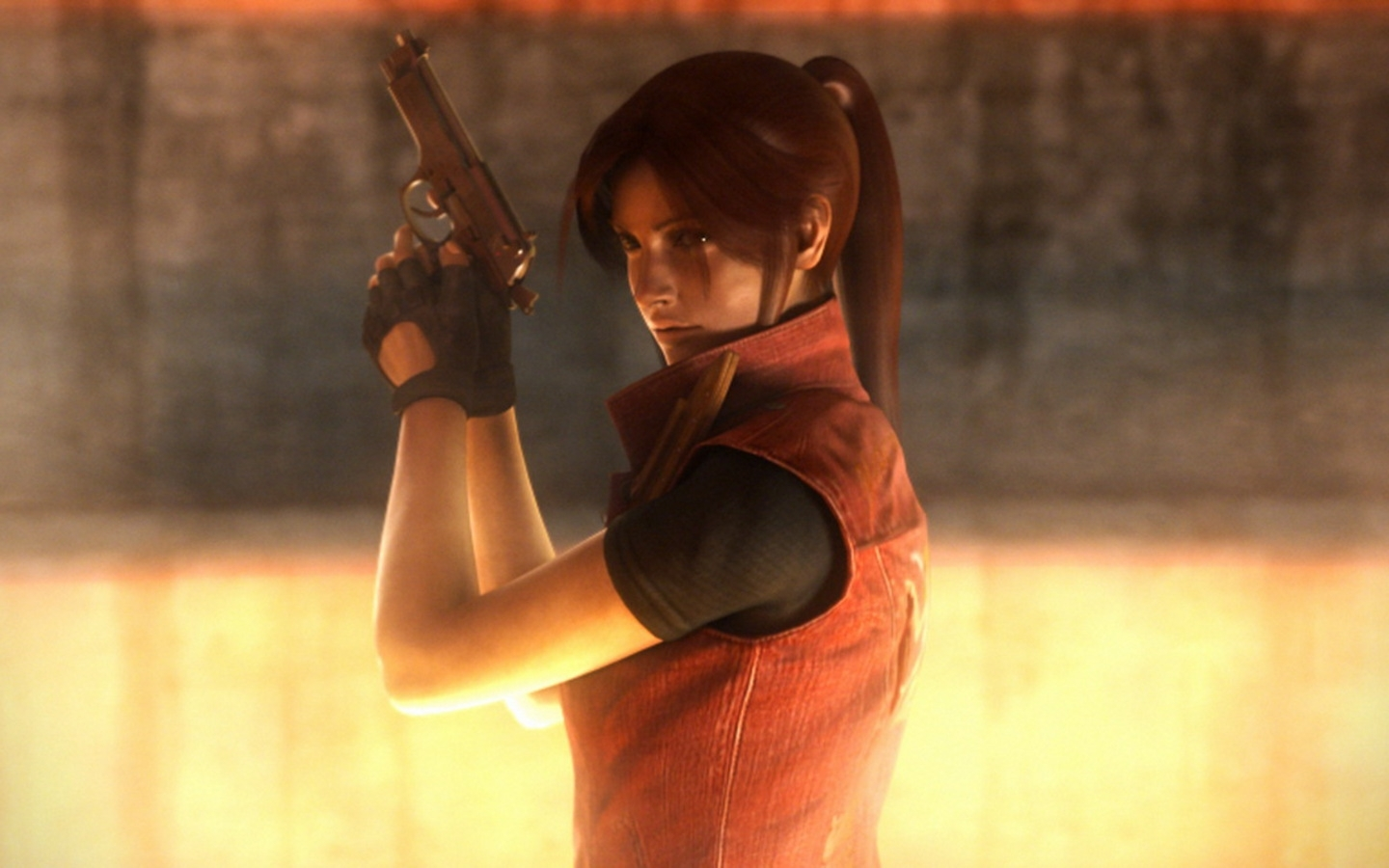 Claire Redfield images Claire in Darkside Chronicles HD wallpaper and 1440x900
