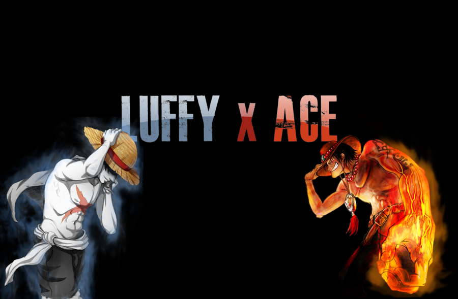 images luffy and ace background by kenzer08 luffy and ace background 900x589