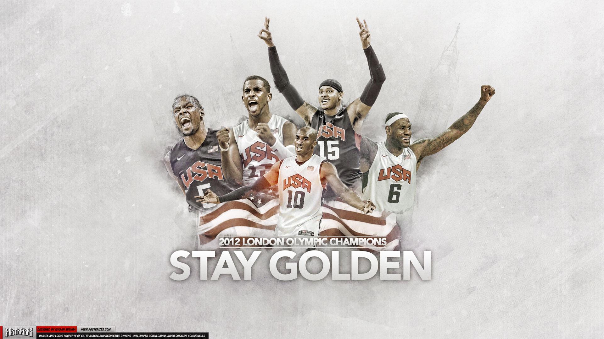 2012 Dream Team Olympics Gold 19201080 Wallpaper Basketball 1920x1080