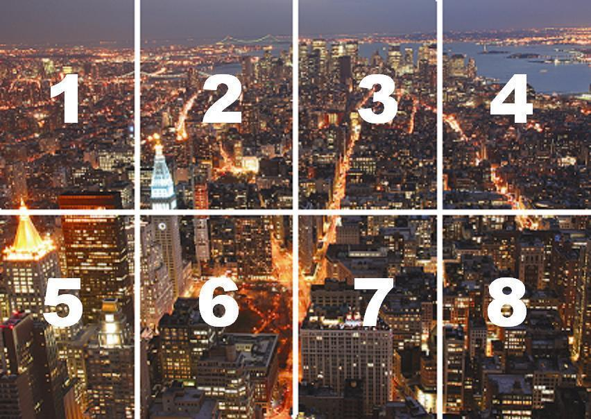 Cityscape New York from Empire State Building Manhattan wallpaper 852x604