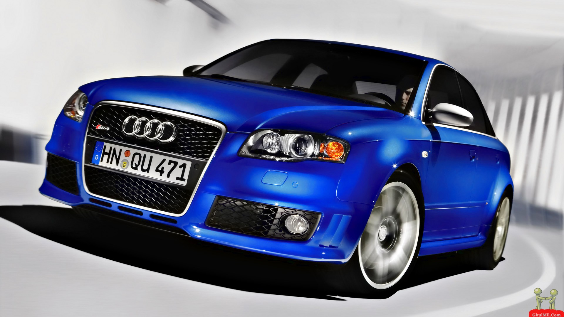 Blue Color Audi Car Wallpaper E Entertainment 1920x1080