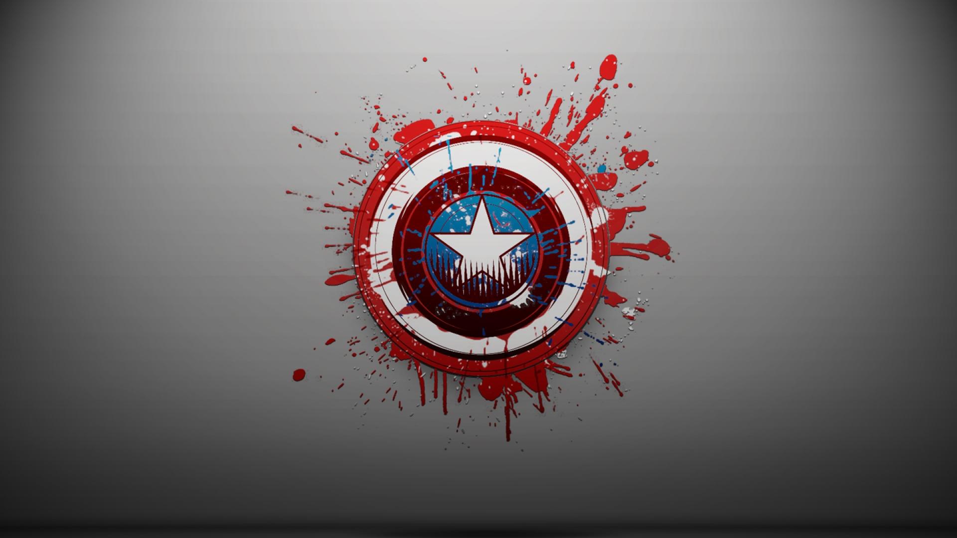Download captain america logo wallpaper HD wallpaper 1920x1080