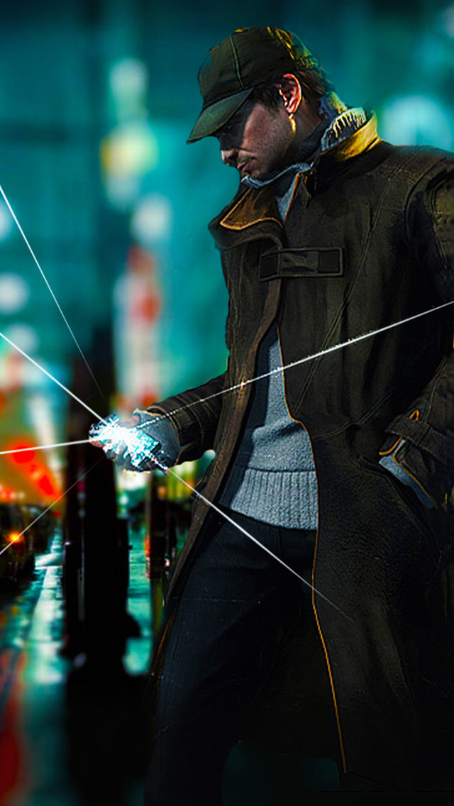 iPhone 5 wallpapers HD   Watch Dogs Backgrounds 640x1136