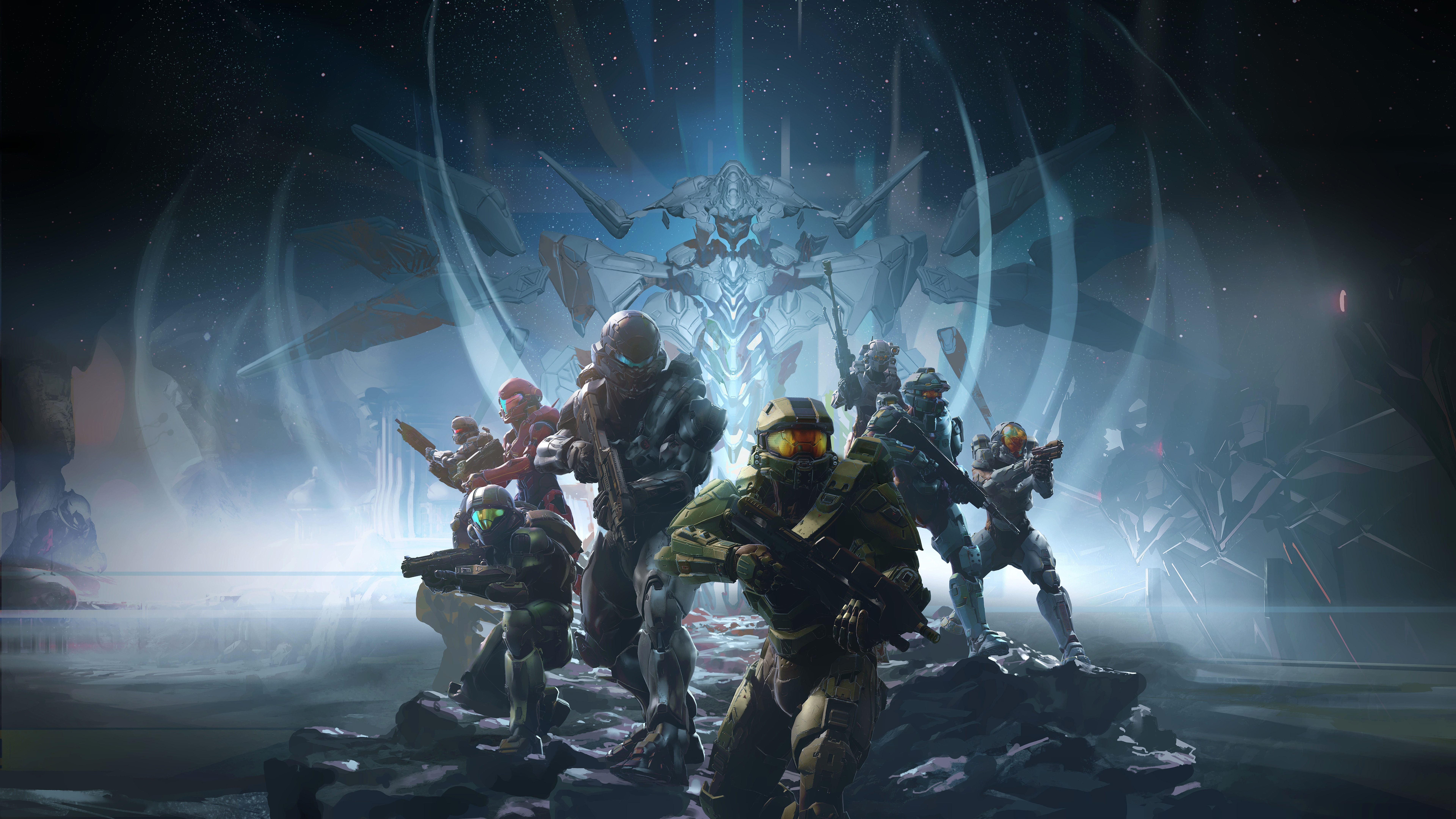 Halo 5 Guardians Game Wallpapers HD Wallpapers 7680x4320