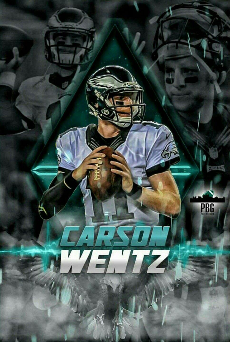 Carson Wentz MVP Fly Eagles Fly Philadelphia Eagles 968x1436