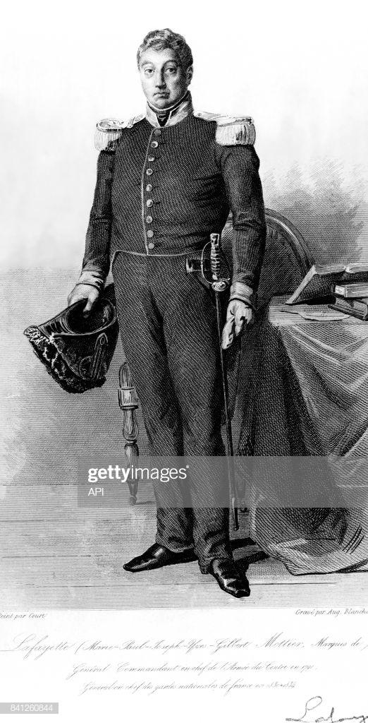 Portrait du marquis Gilbert du Motier de La Fayette News Photo 522x1024