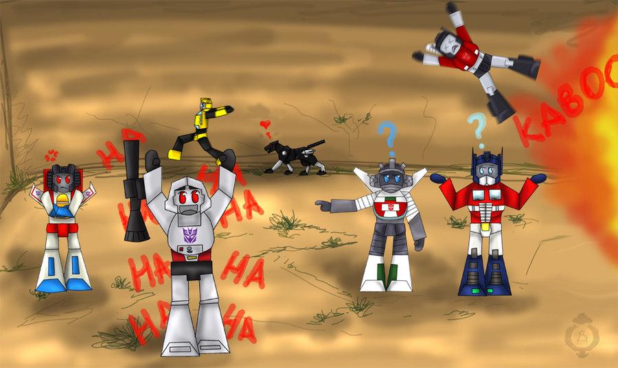 Autobots vs Decepticons by Sheppard56 900x537