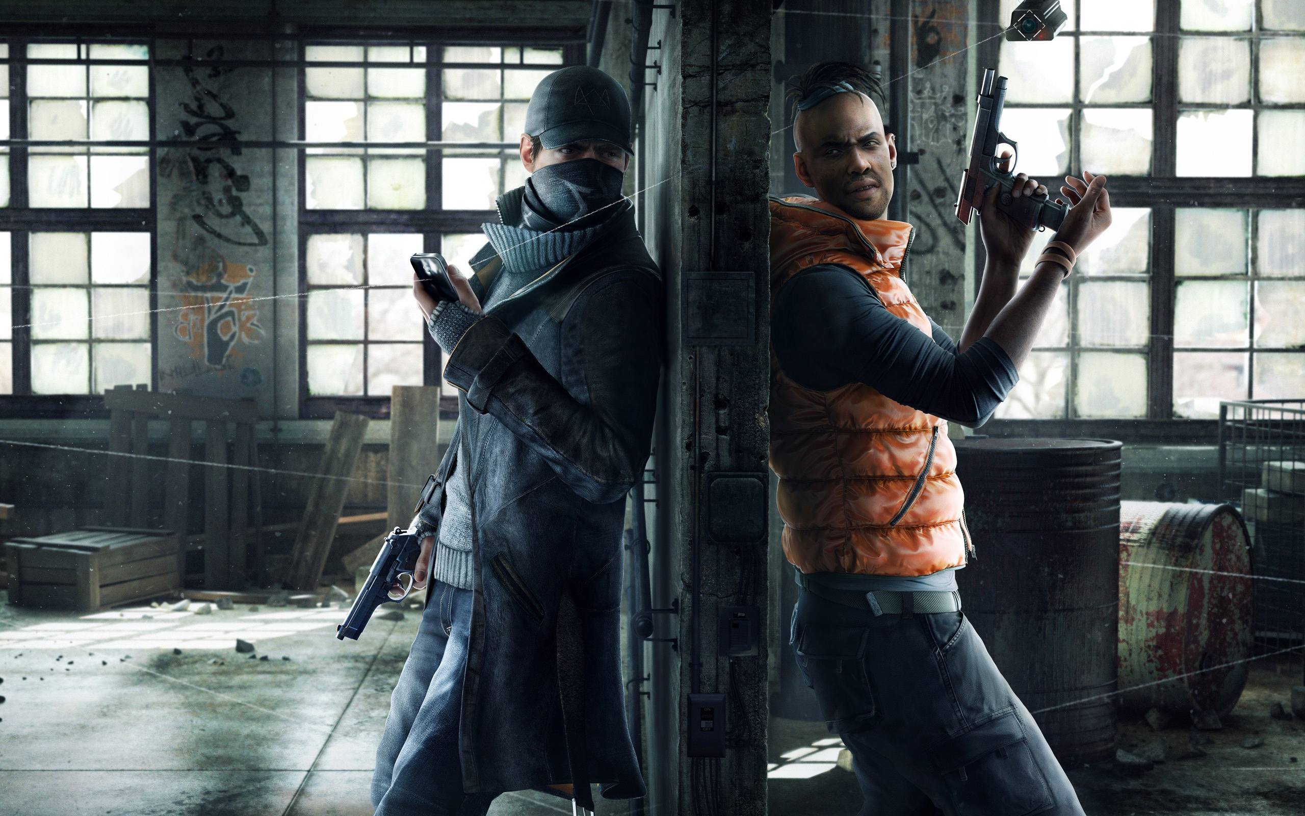2014 Watch Dogs Game Wallpapers HD Wallpapers 2560x1600
