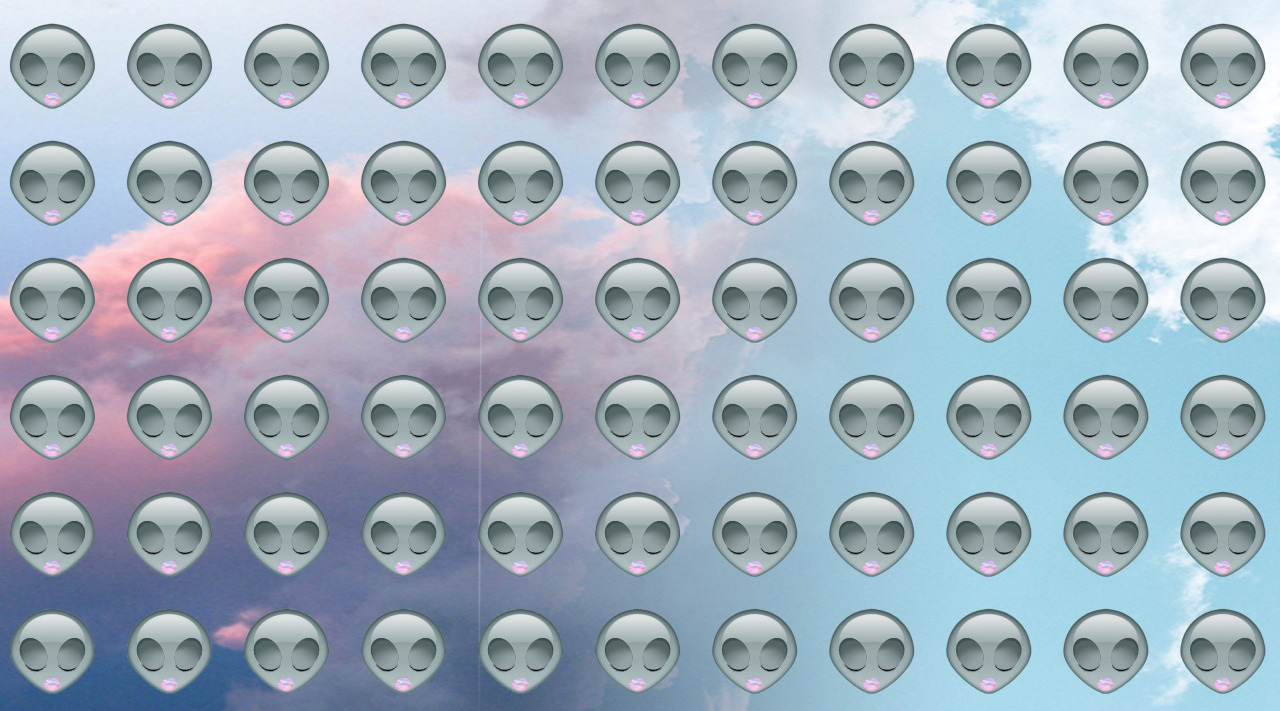Alien iphone wallpaper tumblr - Alien Emoji Wallpaper Tumblr Emoji Art Aliens Wallpaper Sky
