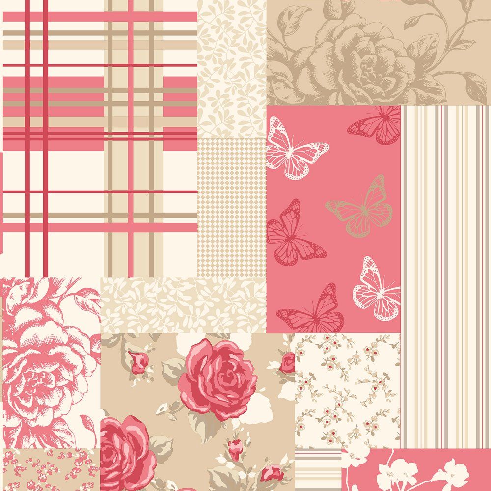 Free Download Floral Wallpaper Caramel Red M0721 Coloroll From I