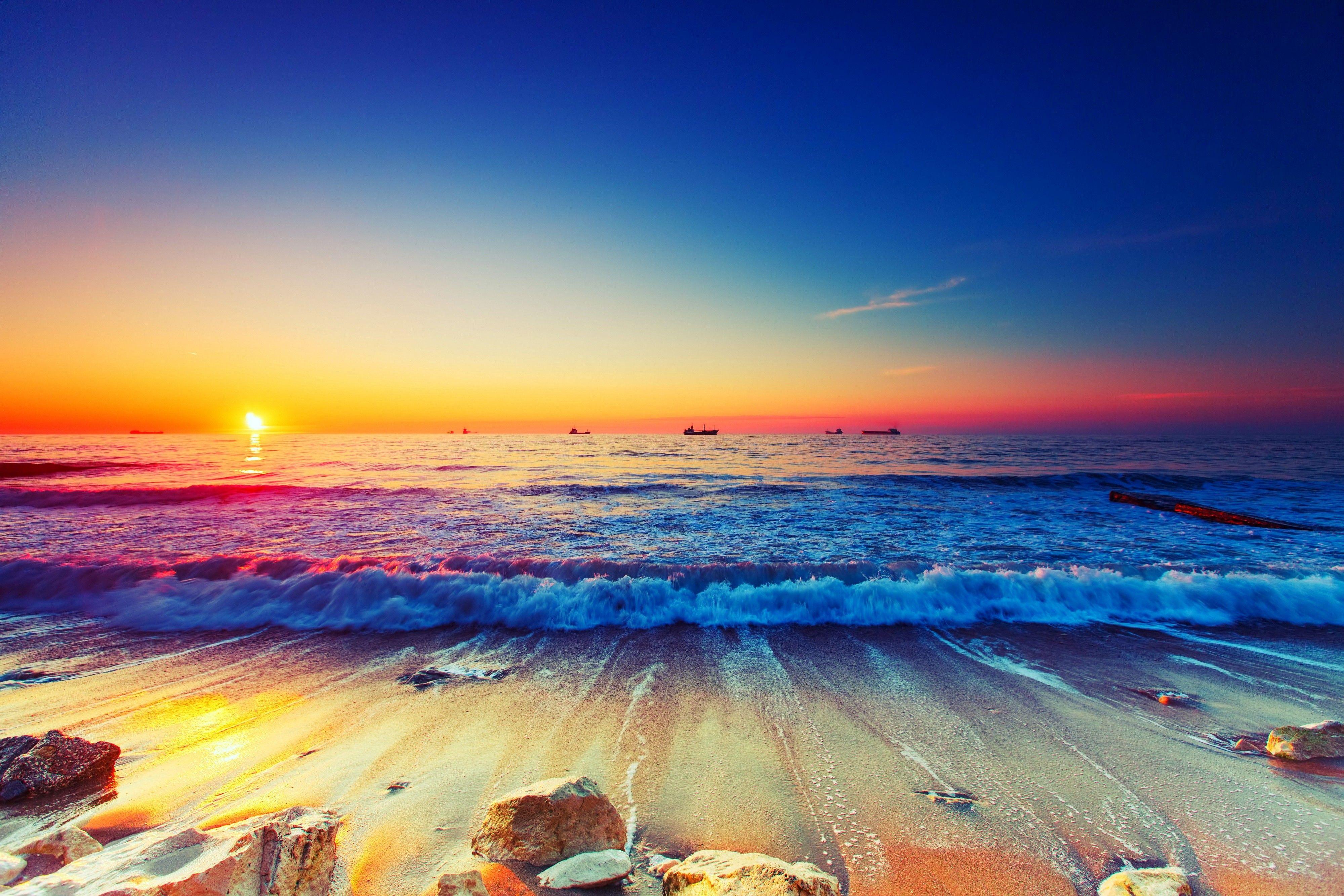 35 Beach Summer Ocean Sunset Wallpapers   Download at WallpaperBro 3999x2666