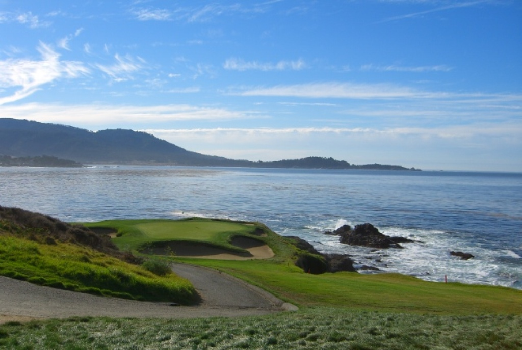 Pebble Beach Golf Course Desktop Wallpaper 1024x687