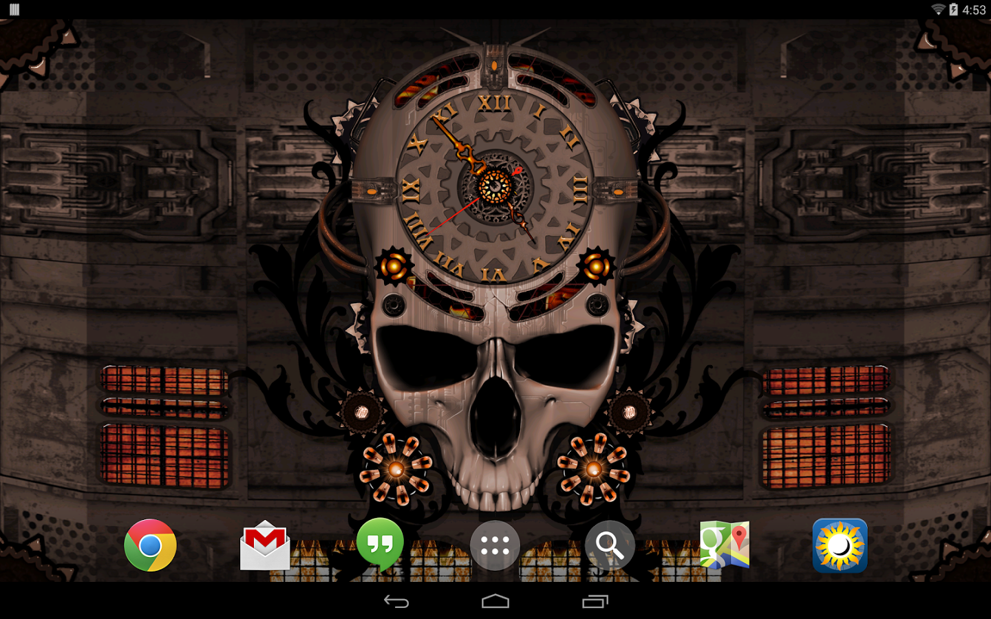 50+ Steampunk Wallpaper for Android on WallpaperSafari