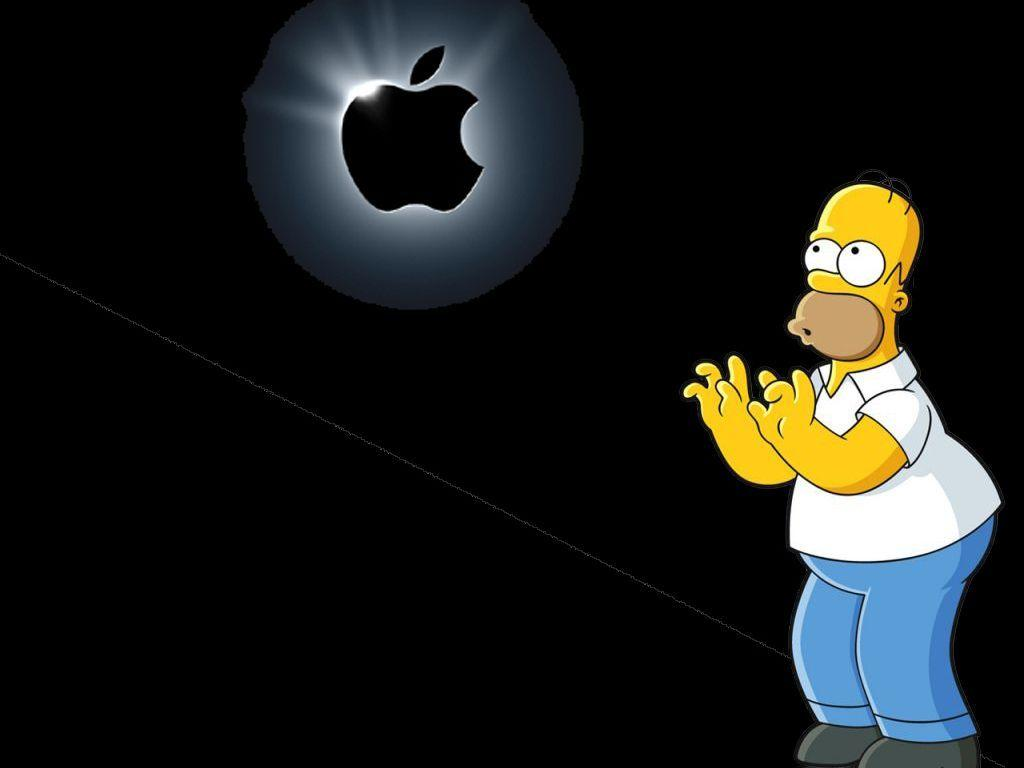 Free Download The Simpsons Apple Wallpapers 1024x768 For