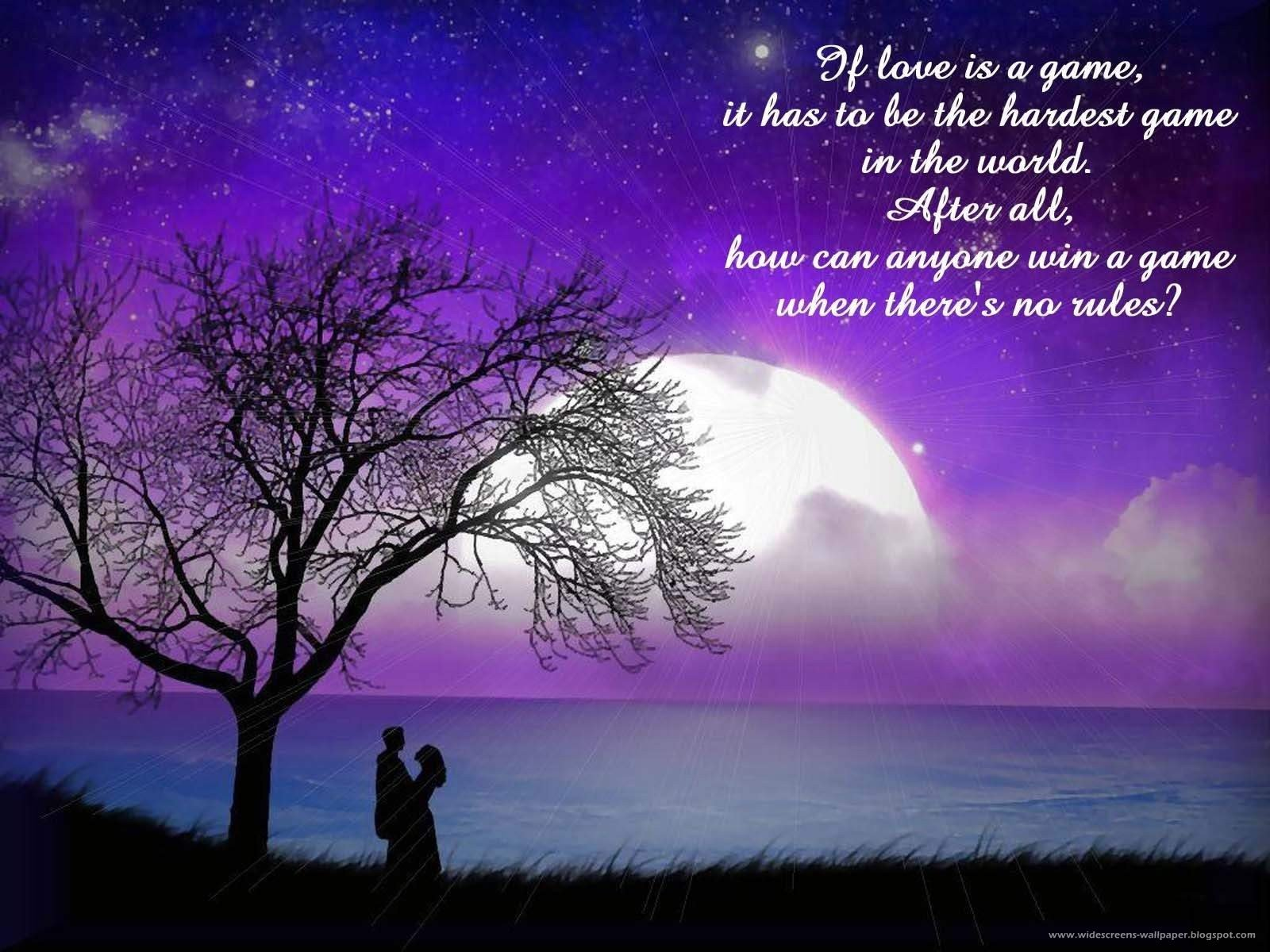 New Romantic Love Words And Quotations Wallpapers Wallpaper 1600x1200