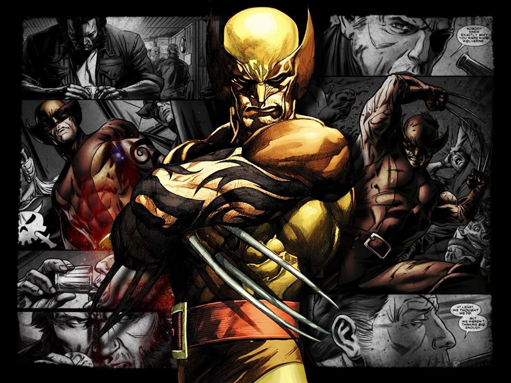 Wolverine Comic Wallpaper Wallpapersafari