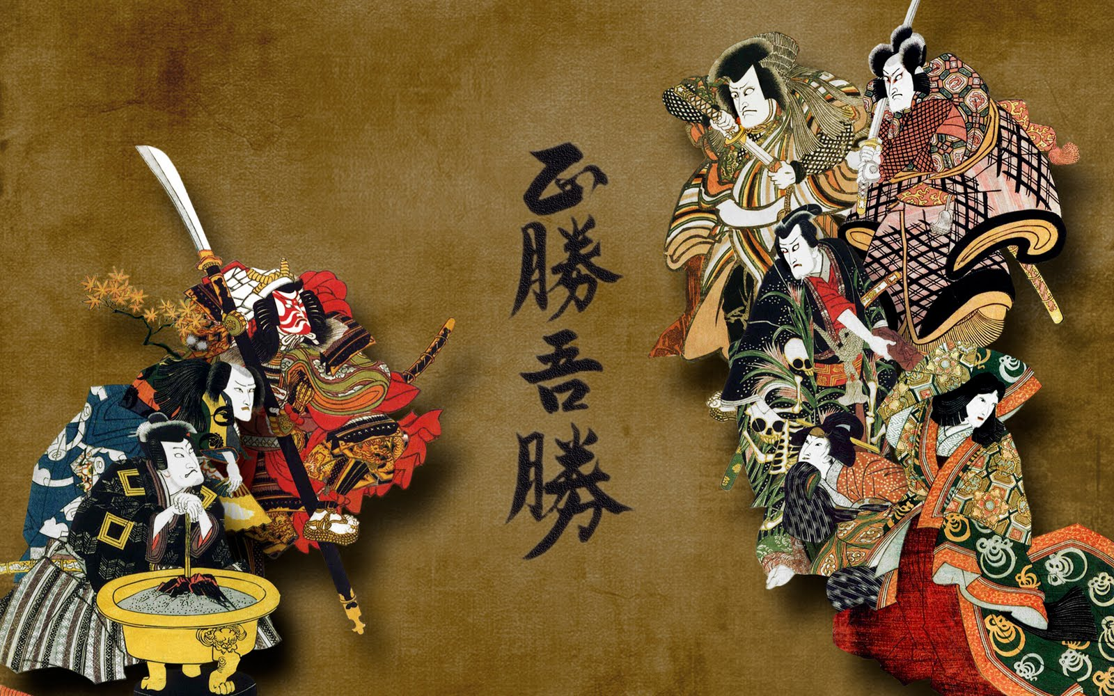 Japanese wallpapers Japanese Asian illustration wallpapers 1600x1000