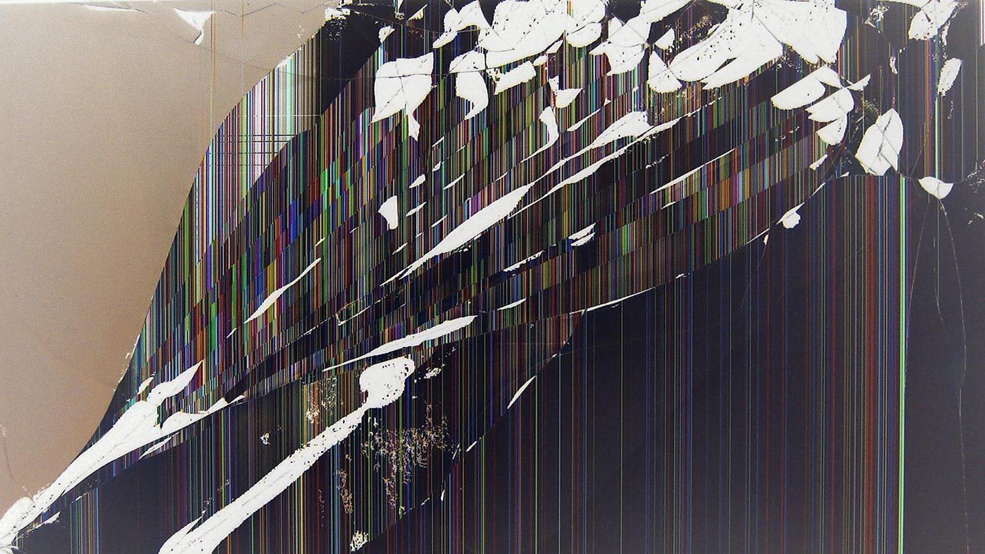 Creeper Broken Screen: Broken Screen Prank Wallpaper