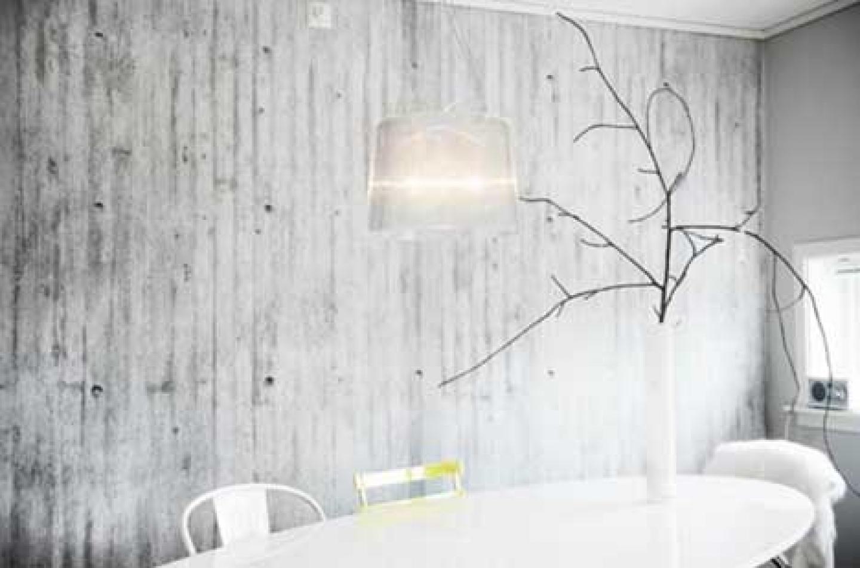 interior concrete wall decor decorating decorating with wallpaper 1440x953