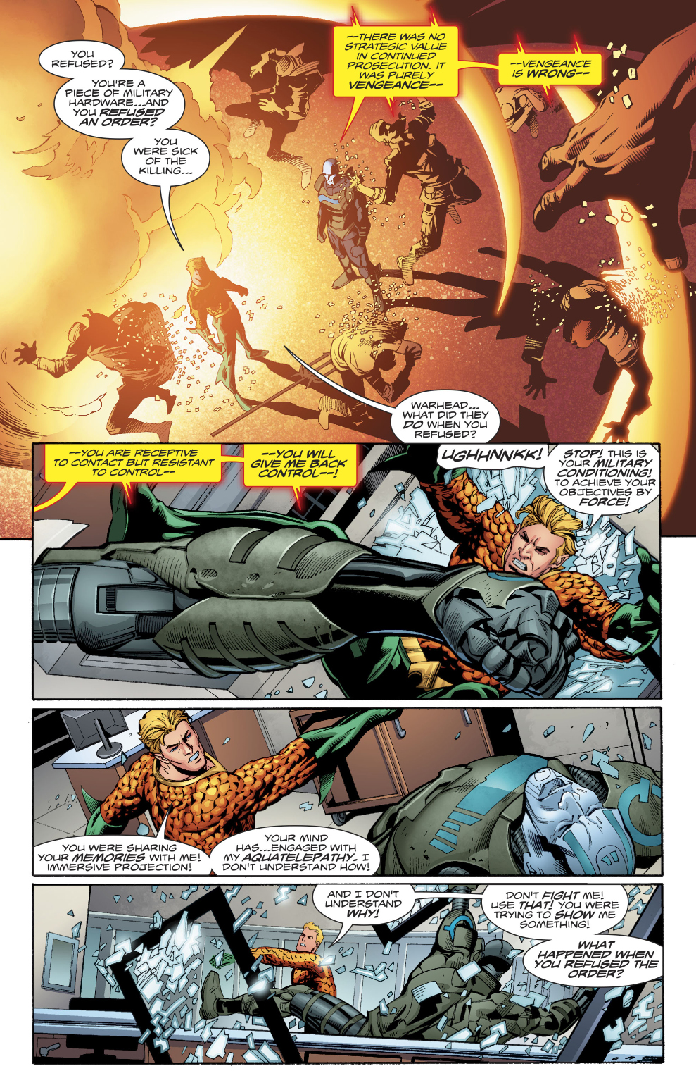 Aquaman Learns Warheads Background Story Comicnewbies 989x1520