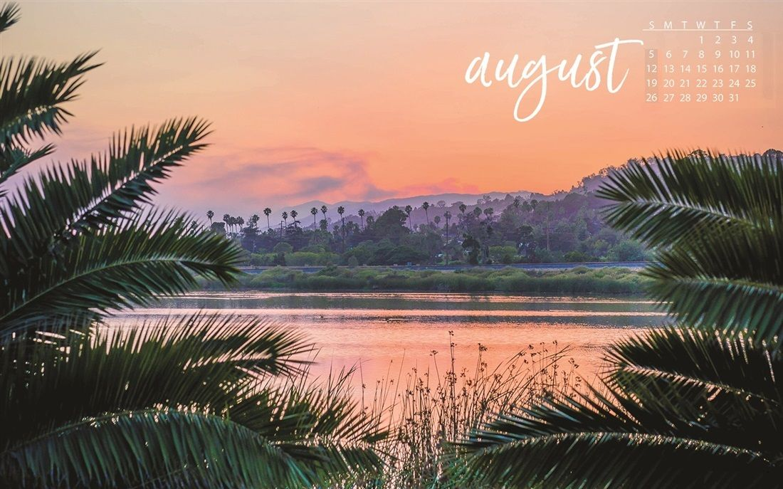 August 2018 Calendar Wallpapers Background Download Great 1100x687