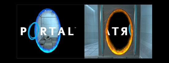 New Portal 2 Wallpaper Dual Monitor Wallpapers 550x206