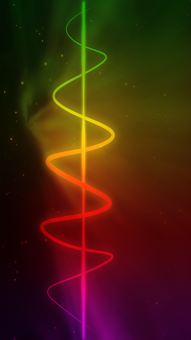 Download Colorful Abstract Light HD Wallpapers for iPhone 5 640x1136