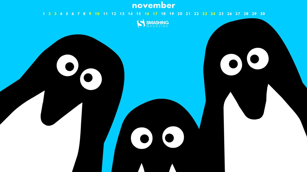 Desktop Wallpaper Calendars: November 2013 – Smashing Magazine