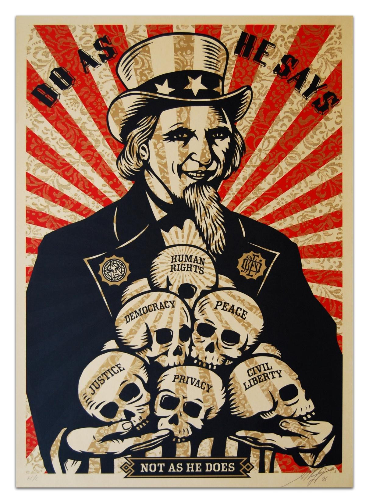 HD Shepard Fairey Wallpapers and Photos HD Misc Wallpapers 1211x1650