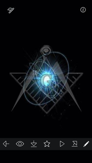 Masonic Wallpapers HD   Download Best Freemasonry Symbols Layout 320x568
