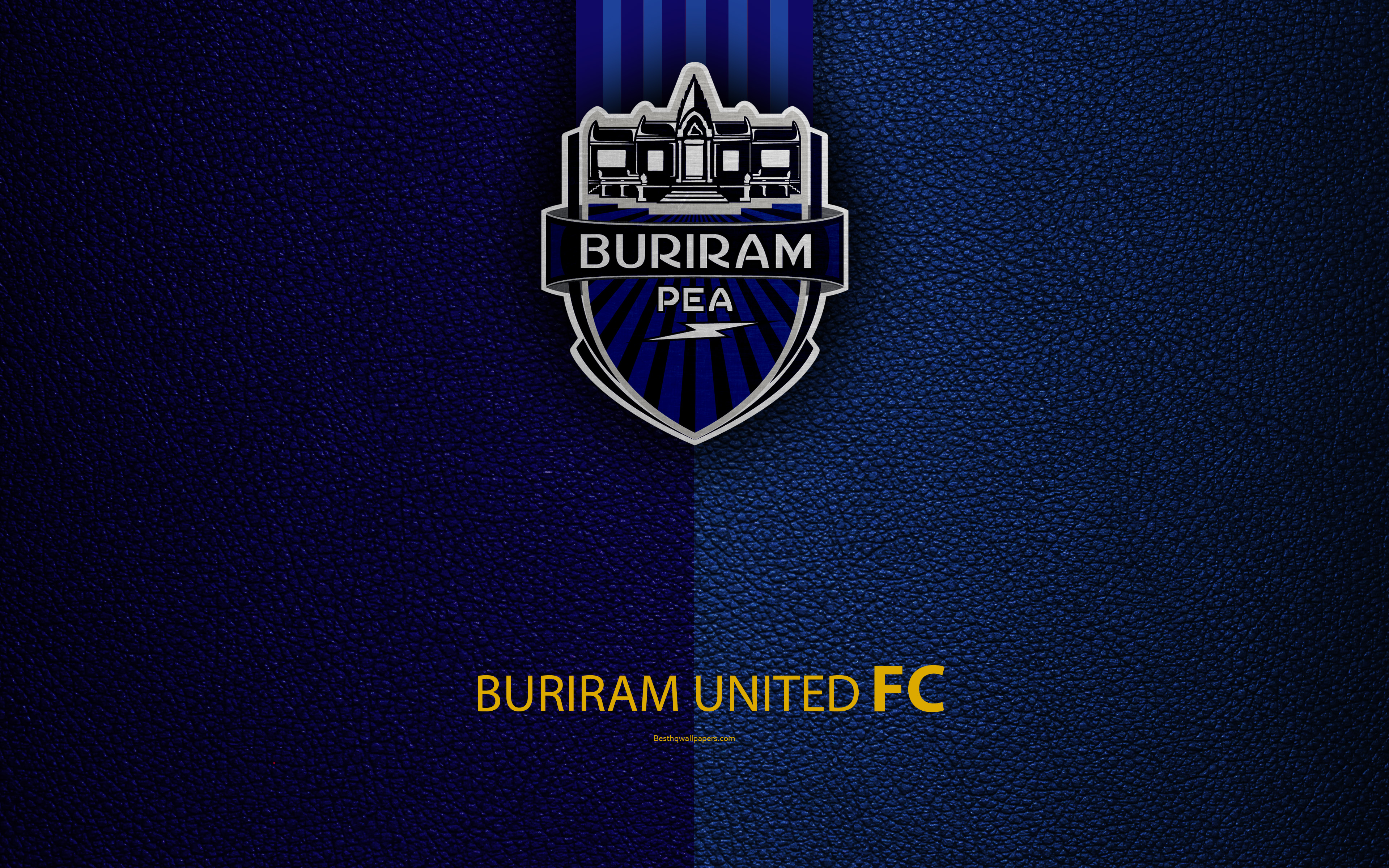 Download wallpapers Buriram United FC 4K Thai Football Club 3840x2400