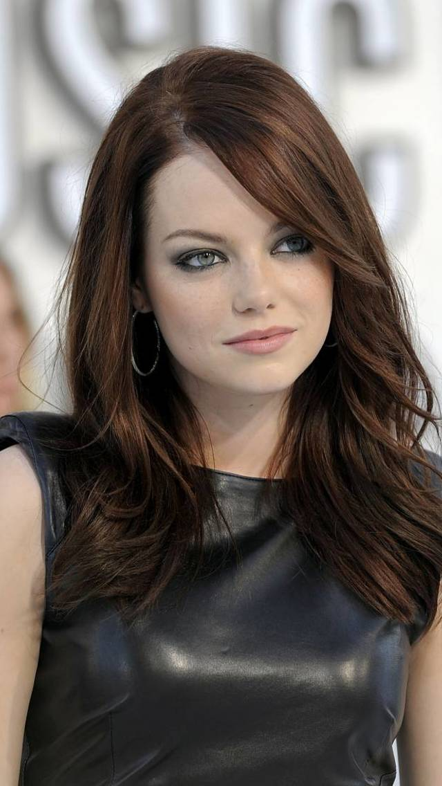 Emma Stone Wallpaper for iPhone 5 640x1136