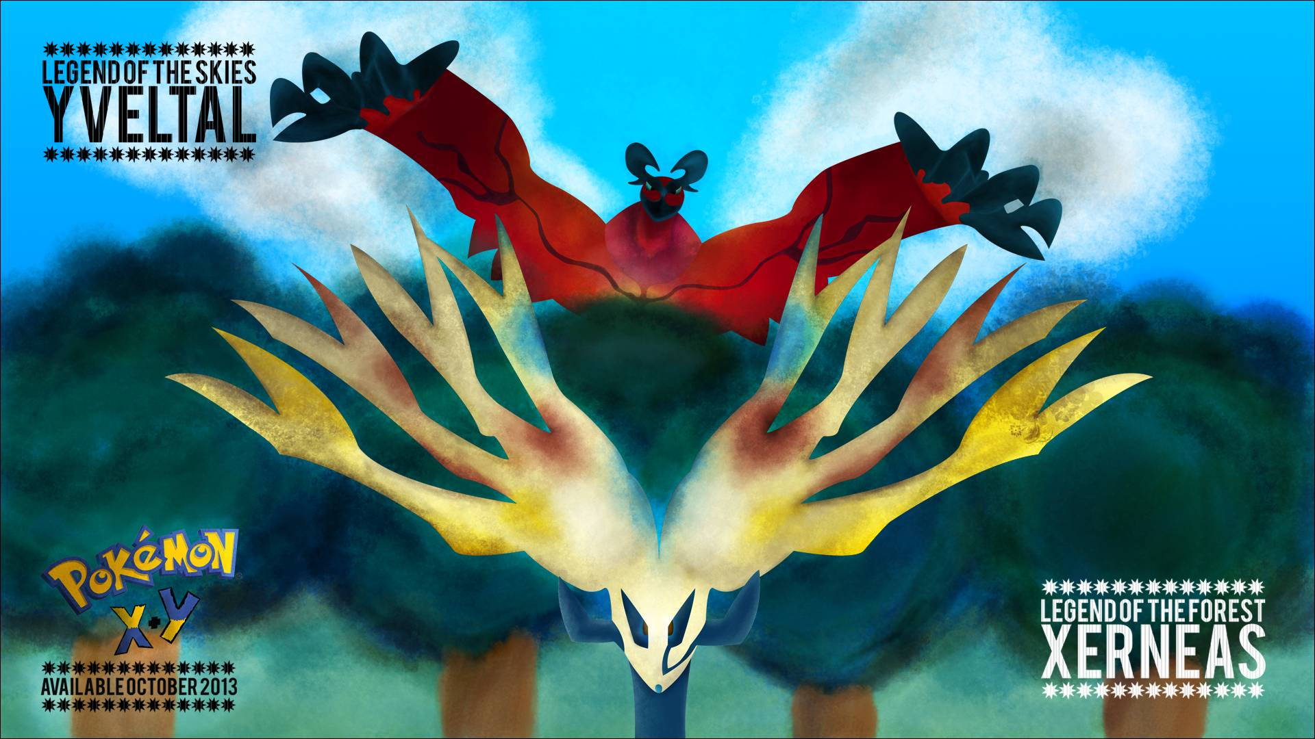Pokemon X And Y Wallpapers 1920x1080