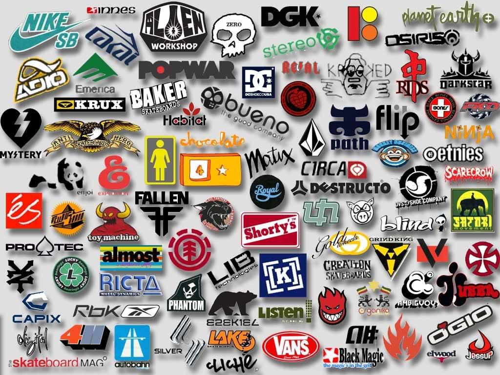 Skateboard Logo Brands Wallpaper 2438 Wallpaper WallpapersTubecom 1024x768