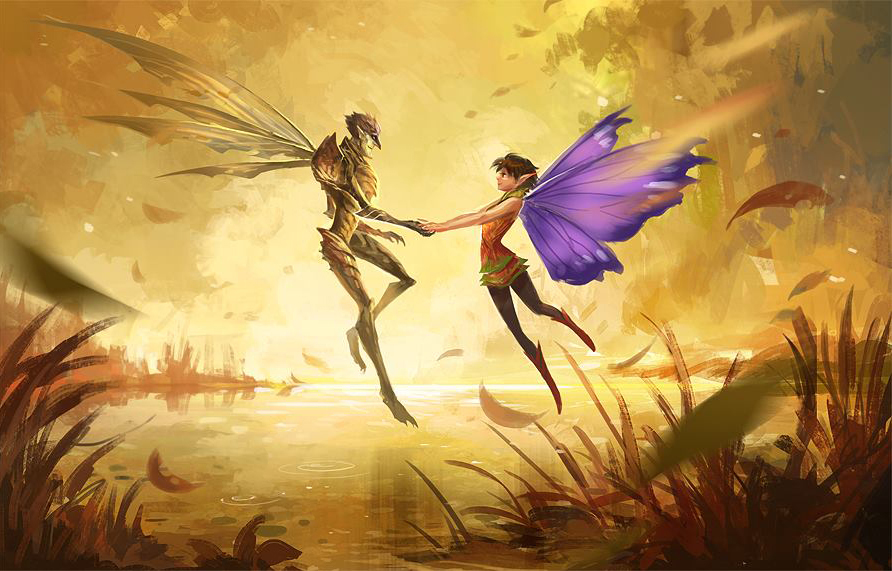 Strange Magic by sandara 892x571