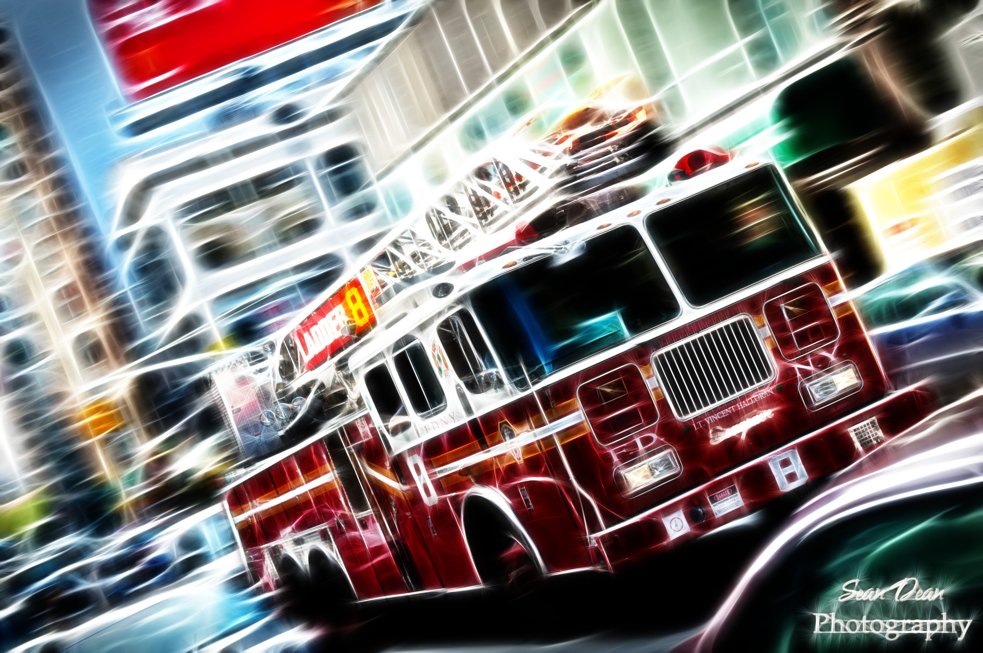 firetruck HD Wallpaper   General 441919 3216x2136