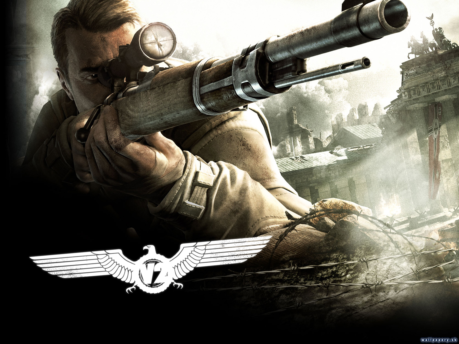 Sniper Elite V2   wallpaper 3 ABCgamescz 1600x1200