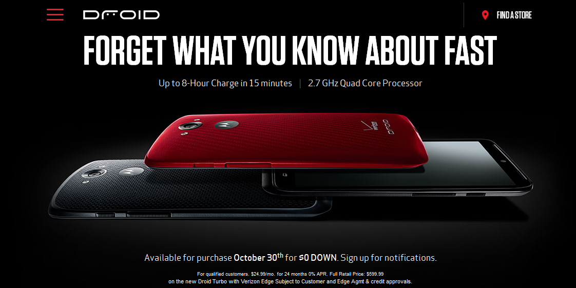 Verizon Officially Annonced the Motorola Droid Turbo 1122x561