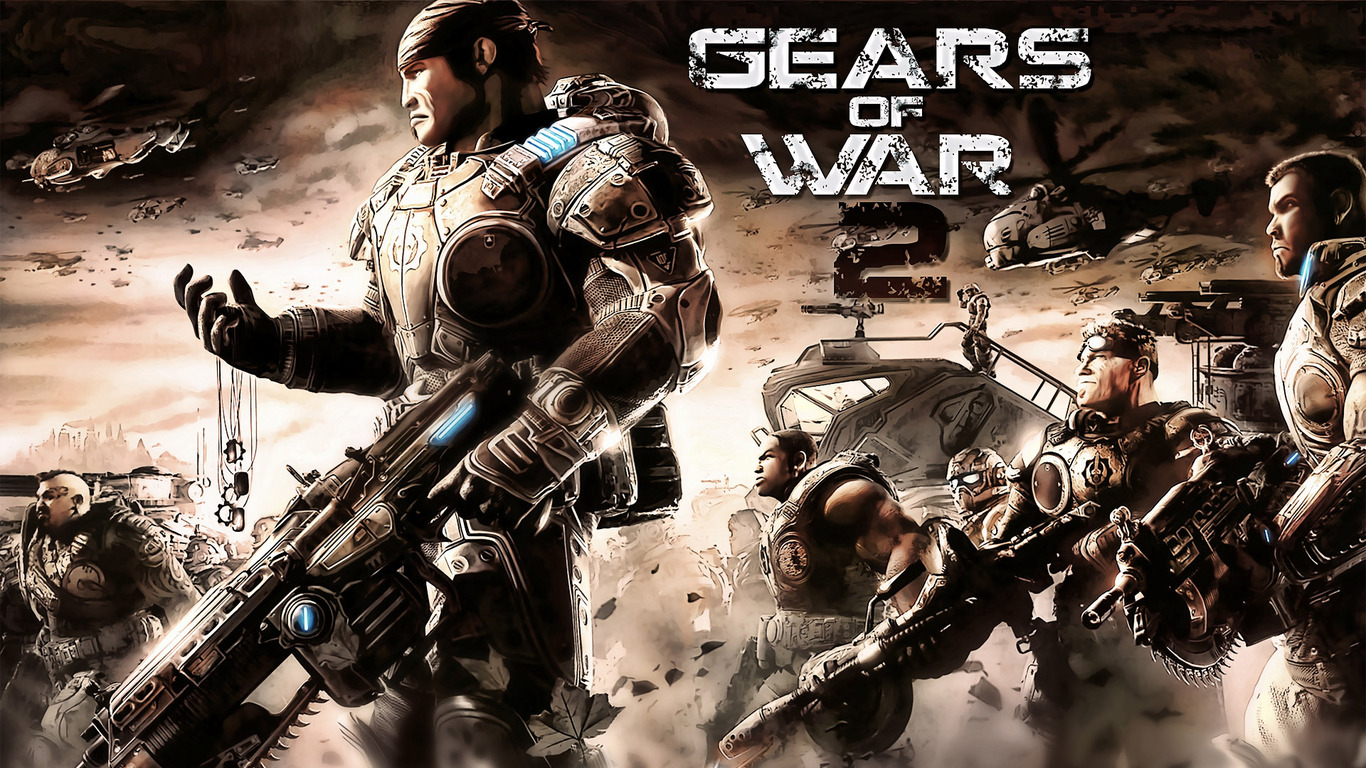 gears of war 2 wallpaper - wallpapersafari