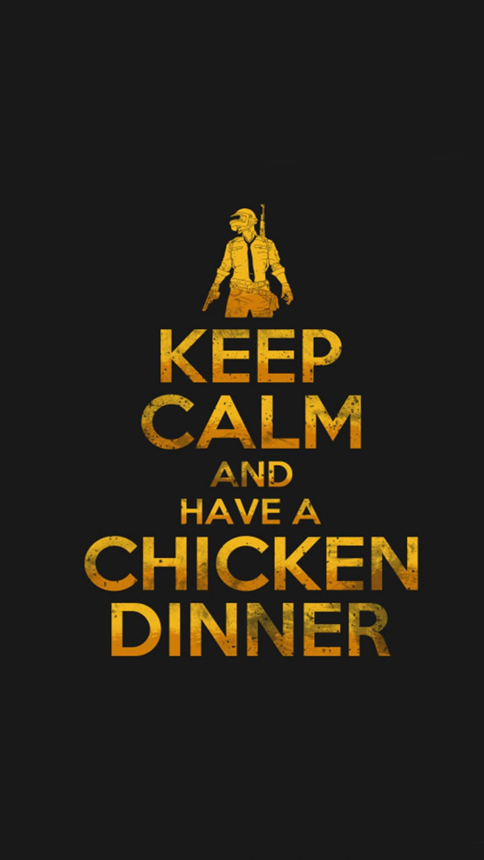 PUBG Keep Calm And Have A Chicken Dinner 4K Ultra HD Mobile 950x1689
