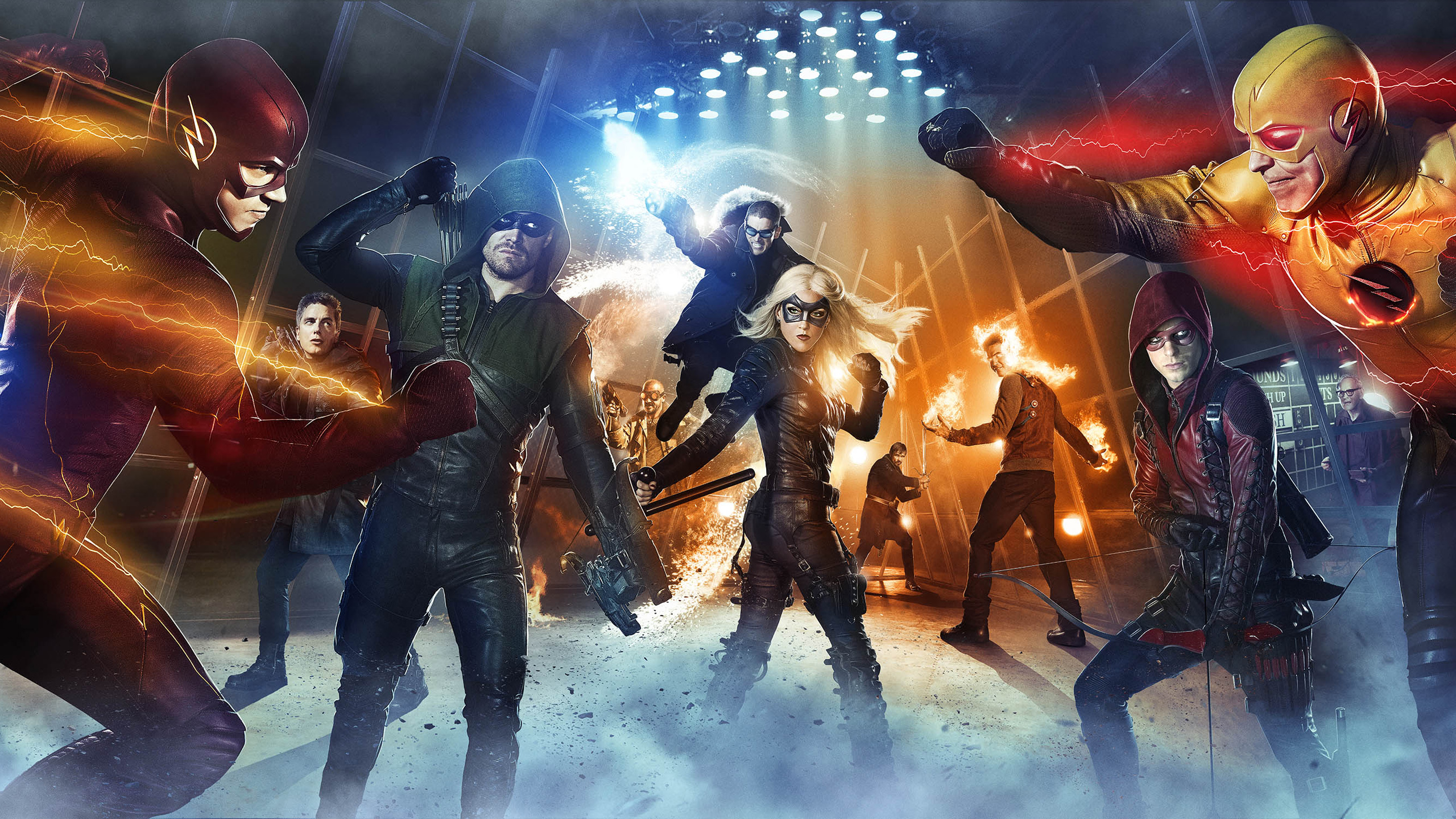 Arrow The Flash Wallpapers HD Wallpapers 2560x1440