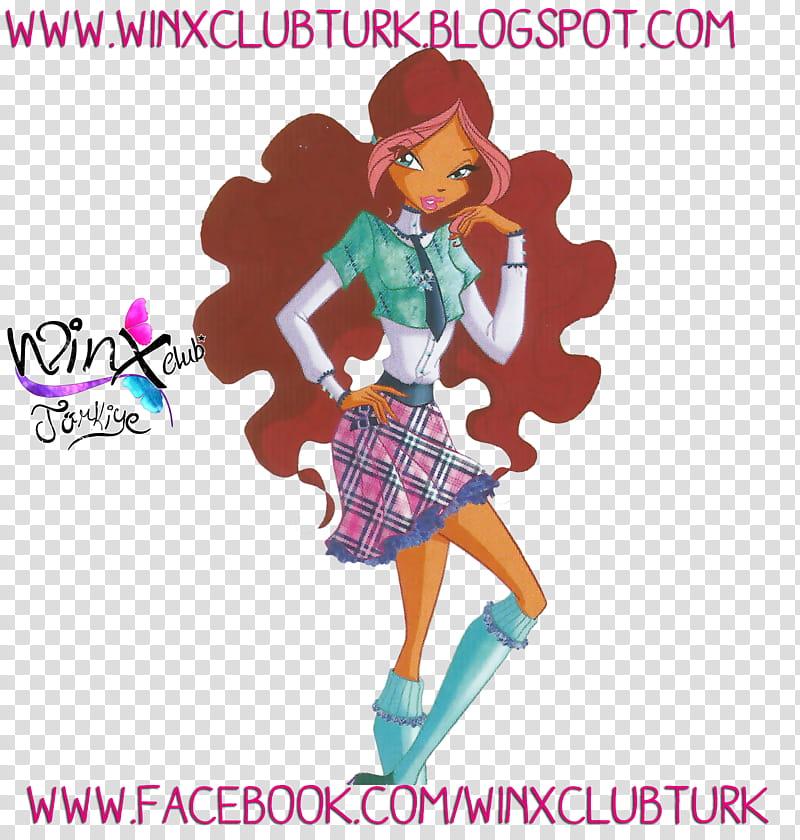 Aisha Layla D Season Fairy Couture transparent background PNG 800x840